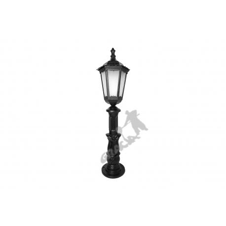 Lampa A10 z kloszem żeliwnym stylowym