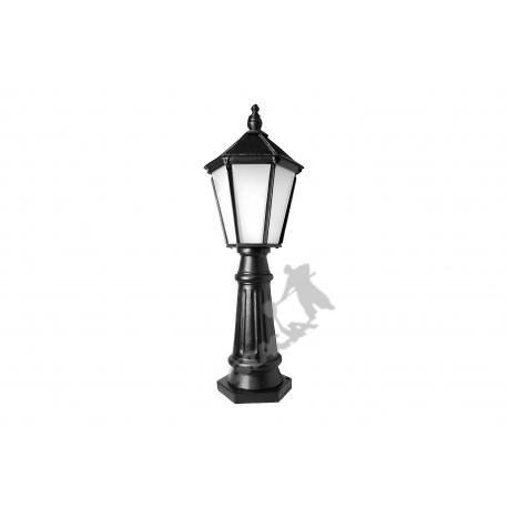 Lampa A15 z kloszem żeliwnym dużym