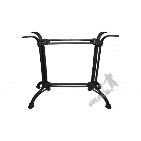 Noga stołu B04 - prostokątnego z łącznikiem żeliwnym