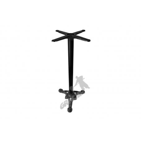 Noga stołu C18 - wysoka z krzyżakiem