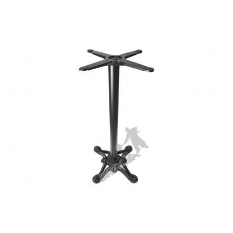 Noga stołu D18 - wysoka z krzyżakiem