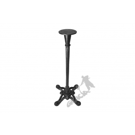 Noga stołu D14 - wysoka z talerzem