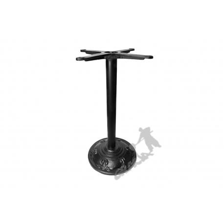 Noga stołu F17 - standardowa z krzyżakiem