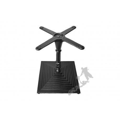 Noga stołu G11 - niska z krzyżakiem