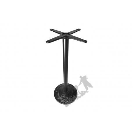 Noga stołu H18 - wysoka z krzyżakiem