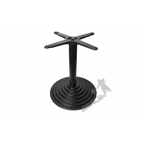 Noga stołu R16 - niska z krzyżakiem