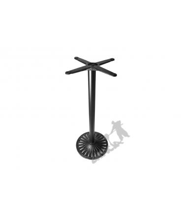 Noga stołu K18 - wysoka z krzyżakiem