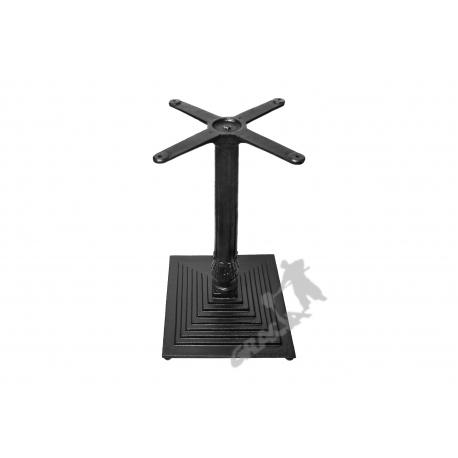 Noga stołu G02 - standardowa z krzyżakiem
