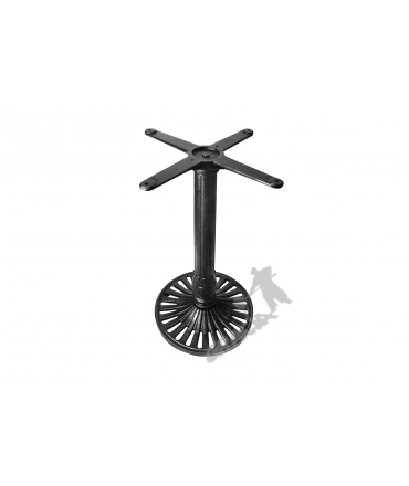 Noga stołu K02 - standardowa z krzyżakiem