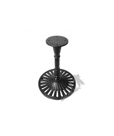 Noga stołu K10 - niska z talerzem