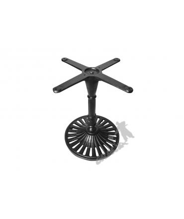 Noga stołu K11 - niska z krzyżakiem