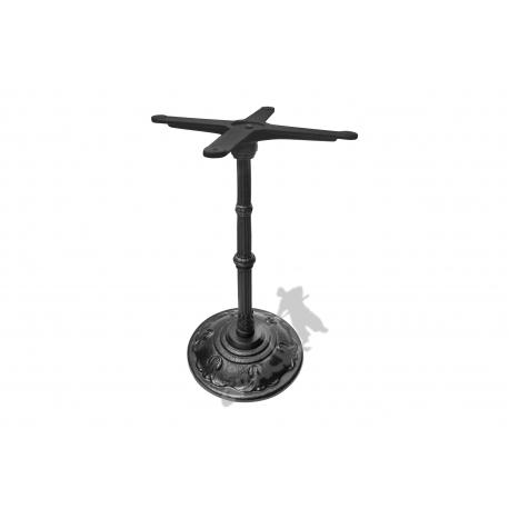 Noga stołu F07 - standardowa z krzyżakiem