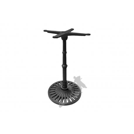 Noga stołu K07 - standardowa z krzyżakiem