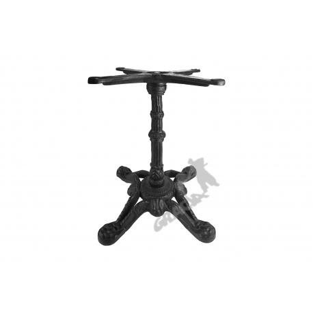 Noga stołu D05 - niska z krzyżakiem