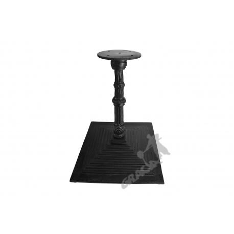 Noga stołu G04 - niska z talerzem