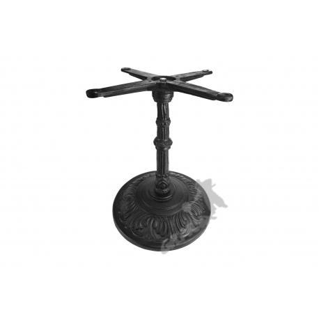Noga stołu H05 - niska z krzyżakiem