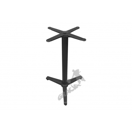 Noga stołu N17 - standardowa z krzyżakiem