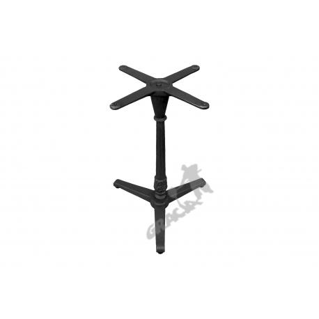 Noga stołu N13 - standardowa z krzyżakiem