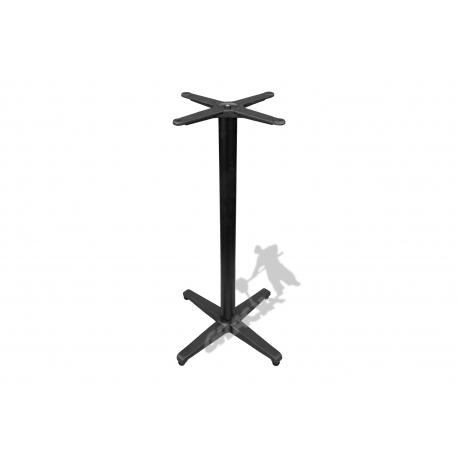Noga stołu P18 - wysoka z krzyżakiem