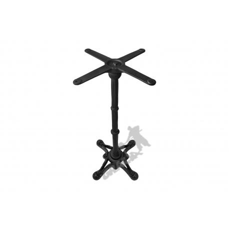 Noga stołu D09 - wysoka z krzyżakiem