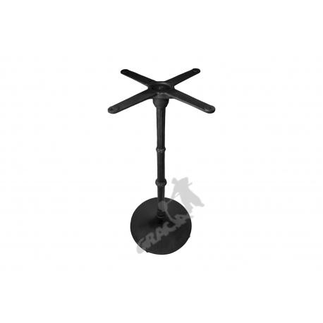 Noga stołu E09 - wysoka z krzyżakiem