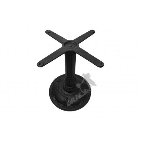 Noga stołu F01 - niska z krzyżakiem