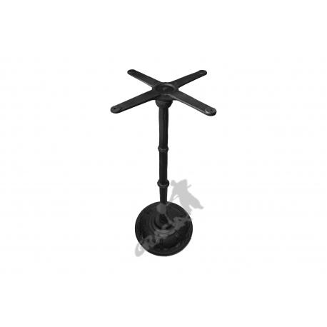 Noga stołu F09 - wysoka z krzyżakiem