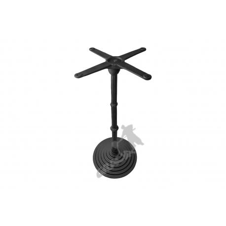 Noga stołu R09 - wysoka z krzyżakiem