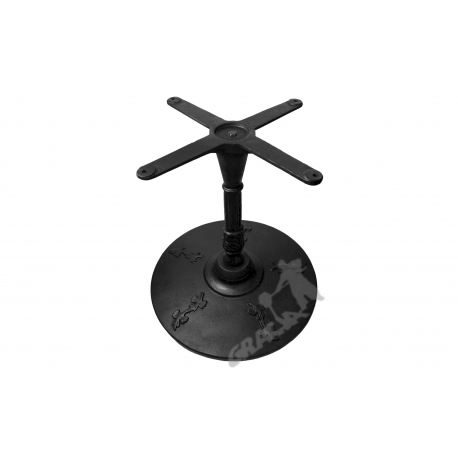 Noga stołu J11 - niska z krzyżakiem