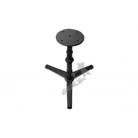 Noga stołu N04 - niska z talerzem