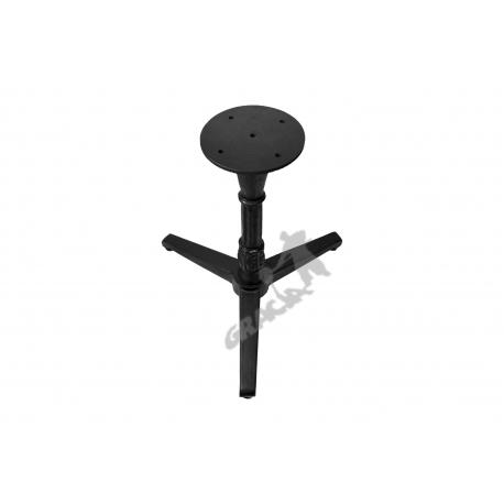 Noga stołu N10 - niska z talerzem