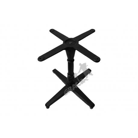 Noga stołu P11 - niska z krzyżakiem