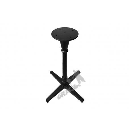 Noga stołu P12 - standardowa z talerzem