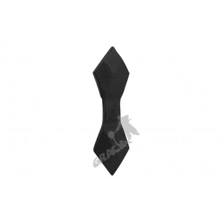 Kratka ogrodzeniowa nr 15 żeliwna - krawat wąski