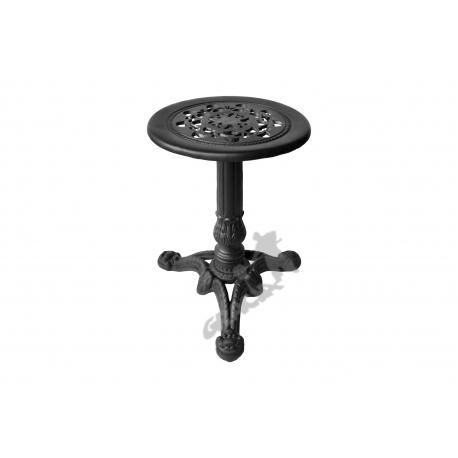 Mini stolik C01 - niski z blatem koronkowym