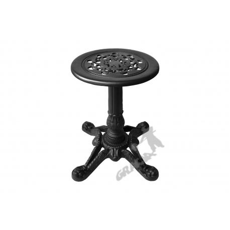 Mini stolik D01 - niski z blatem koronkowym