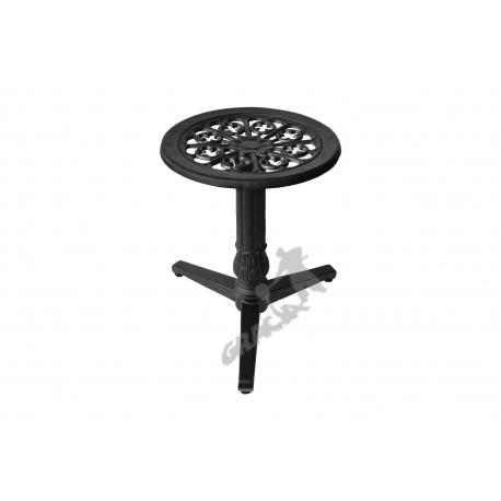 Mini stolik N02 - niski z blatem kwiatowym