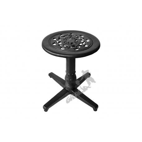 Mini stolik P01 - niski z blatem koronkowym