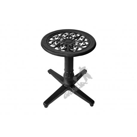 Mini stolik P02 - niski z blatem kwiatowym