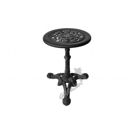 Mini stolik C07 - niski z blatem koronkowym