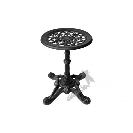 Mini stolik D08 - niski z blatem kwiatowym