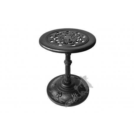 Mini stolik F07 - niski z blatem koronkowym