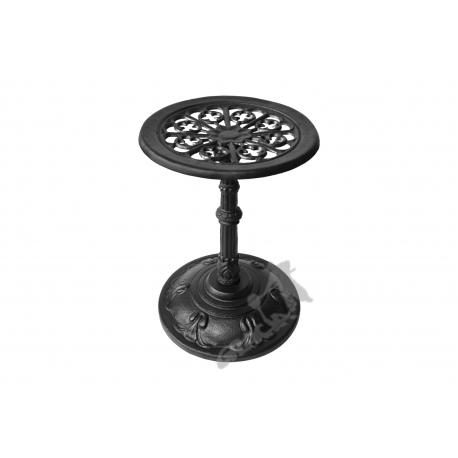 Mini stolik F08 - niski z blatem kwiatowym