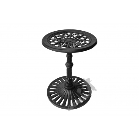 Mini stolik K08 - niski z blatem kwiatowym