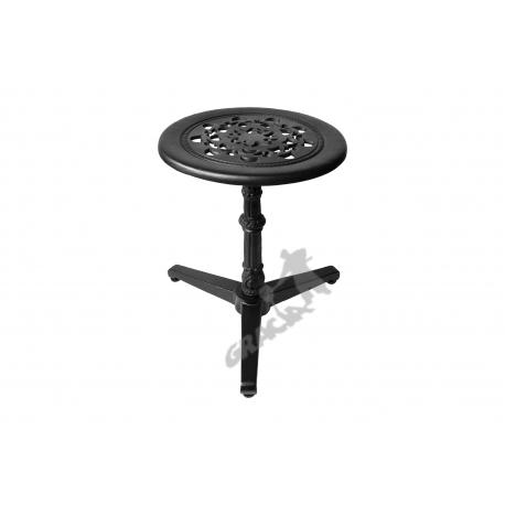Mini stolik N07 - niski z blatem koronkowym