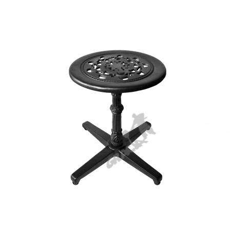 Mini stolik P07 - niski z blatem koronkowym
