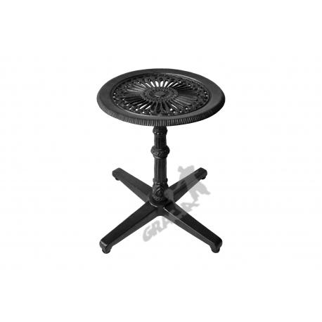 Mini stolik P09 - niski z blatem gęstym