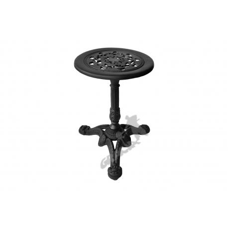 Mini stolik C13 - niski z blatem koronkowym