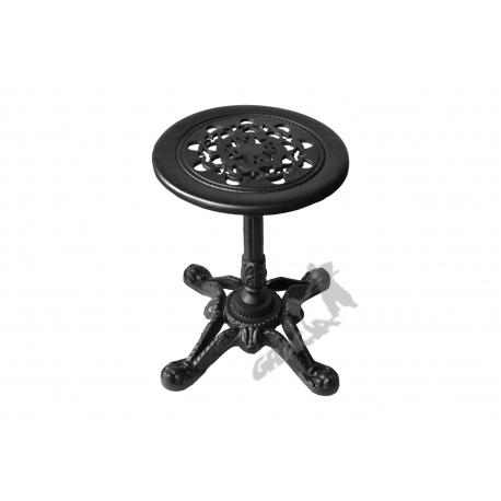 Mini stolik D13 - niski z blatem koronkowym