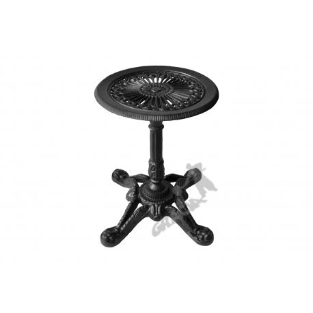 Mini stolik D15 - niski z blatem gęstym